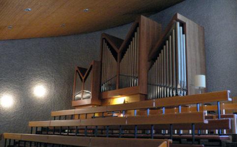 Orgel evangelisch reformierte Kirche in Bubendorf