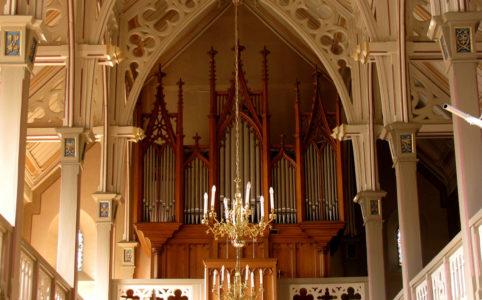 Orgel in St. Martin Kirche in Kilchberg, © Hurni Christoph