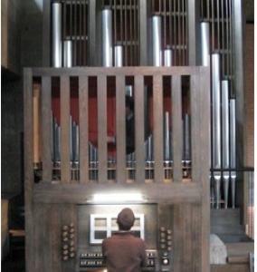 Orgel in Reinach, Mischeli-Kirche © Orgelbau Hauser, Kleindöttingen