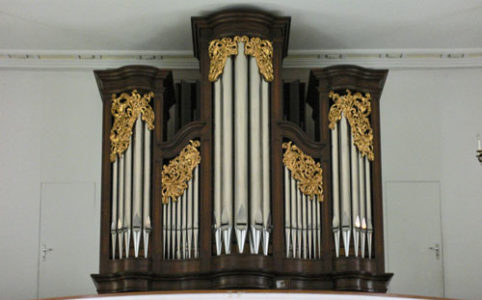 Orgel in St. German Kirche in Seewen SO