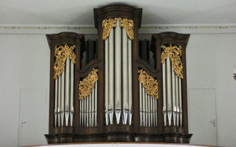 Orgel in St. German Kirche in Seewen SO