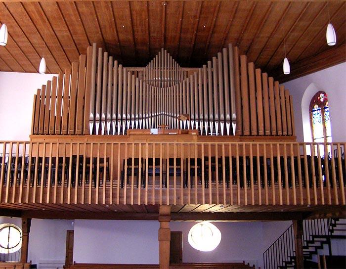 Orgel in der Stadtkirche Liestal