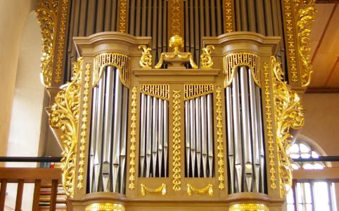 Orgel in der Kirche St. Jakob in Sissach