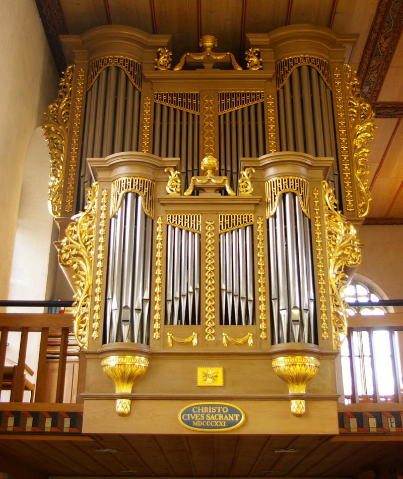 Orgel in der Kirche St. Jakob in Sissach